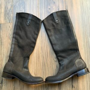 DOLCE VITA Leather Knee High Riding Boots